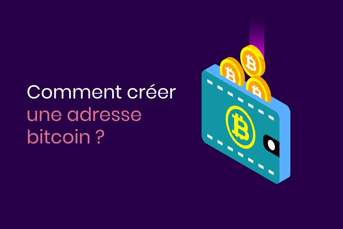 adresse bitcoin tutoriel