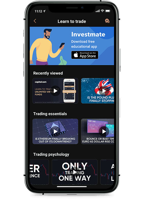 Application cours capital.com