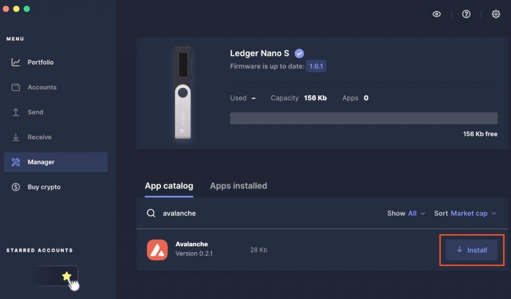 Application Ledger Live